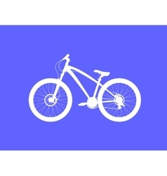 Dirt street Bicycle vector image