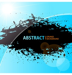 Abstract grunge background shining vector