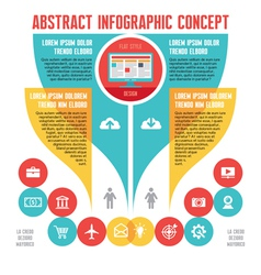 Abstract infographic Business Concept vector image
