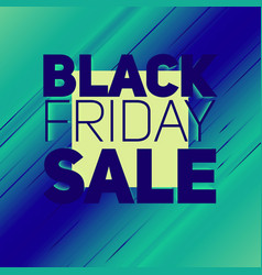 black friday sale background with vector image