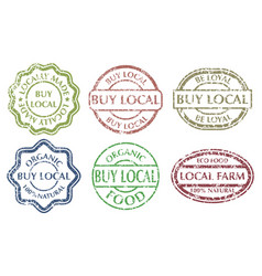 Buy local sign vector