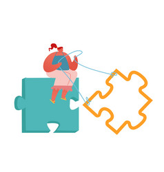 Creative idea integration problem and task vector