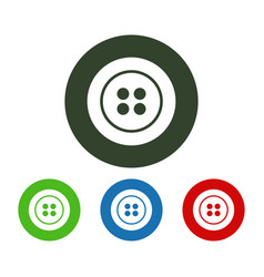 dress button icon vector image