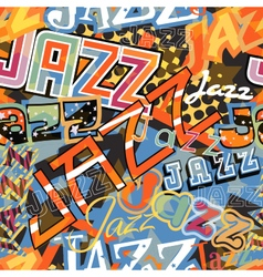 Jazz tile vector