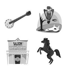 Ranch and farm icon vector