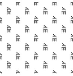 Rescue tower pattern seamless vector