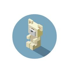 teddybear1 vector image vector image