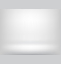 white abstract background and empty light interior vector image