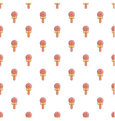 baby beanbag pattern seamless vector image vector image