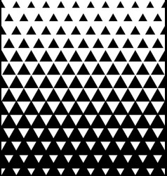 halftone triangular pattern abstract vector image vector image