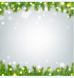 new year border vector image vector image