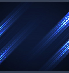 Abstract background with glowing lines neon vector