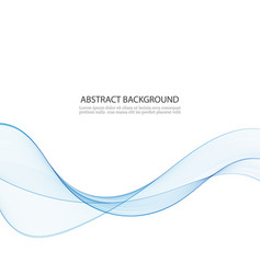 abstract blue wave background abstract blue vector image