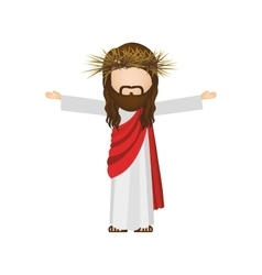 avatar religious design of jesus christ vector image