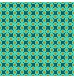 Circle and rhombus seamless pattern vector image
