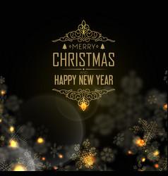 Happy new year design postcard vector