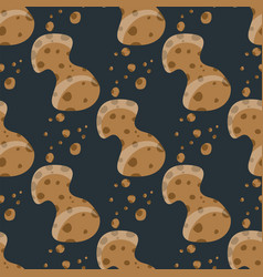 Meteor shower comet pattern cosmos stone astronomy vector