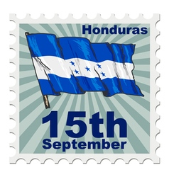 National day of Honduras vector