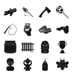 Plumbing magic profession and other web icon in vector