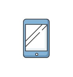 Tablet rgb color icon vector