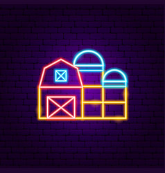 village home neon sign vector image