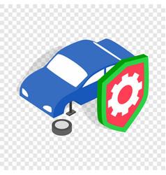 repair machine isometric icon vector image
