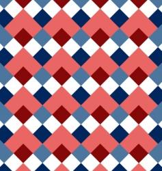 pattern rhombus vector image vector image