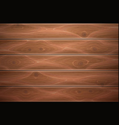 Realistic wooden timber background texture vector
