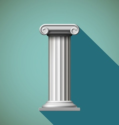 Antique column Stock vector