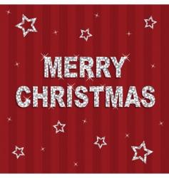 Christmas glitter background vector