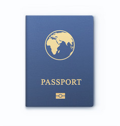 International identification document for travel vector