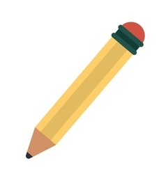 pencil writing utensil wood vector image