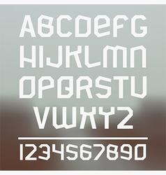 Sans serif font vector