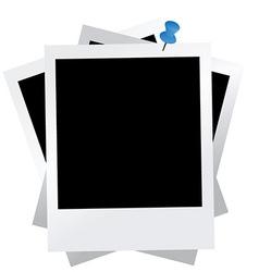 Set of photographs vector