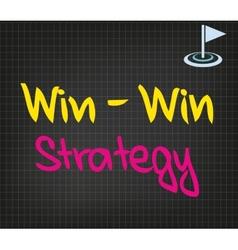 Win-Win Strategy vector
