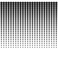 halftone background template vector image