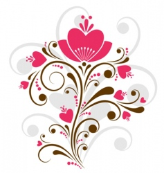 floral design vector image vector image