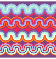 geometric seamless abstract wave pattern vector image