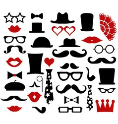 Hipster design elements vector image vector image