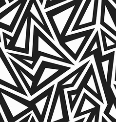 African monochrome seamless pattern vector