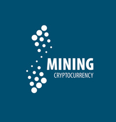 digital currency mining vector image