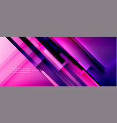 dynamic lines on fluid color gradient trendy vector image