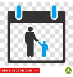 Father Calendar Day Eps Icon vector image
