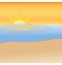 Sea background Beach design graphic vector