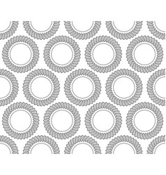 helical gear pattern vector image vector image