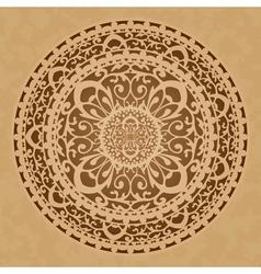 oriental decoration vector image vector image