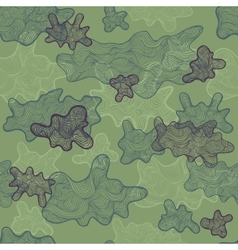 Artistic camouflage vector image