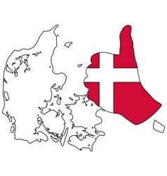Danish hand signal vector