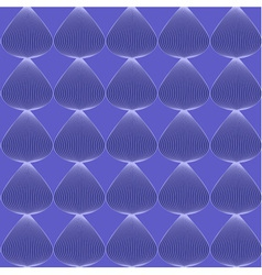 Blue seamless line pattern vector