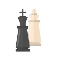 chess game isolated vector image